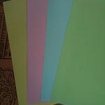 色紙(色付き紙)のサンプル