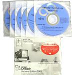 リカバリー・再セットアップディスクのイメージ写真